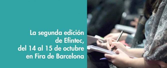 segunda edición Efintec